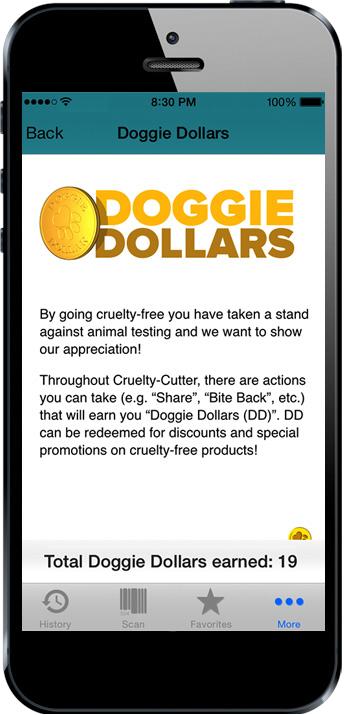 Cruelty Cutter Doggie Dollars