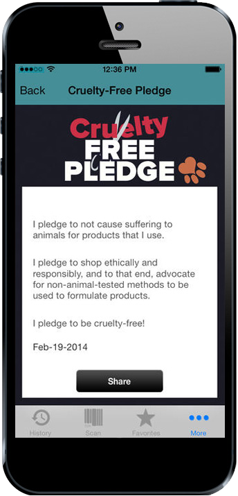 Cruelty Cutter Pledge